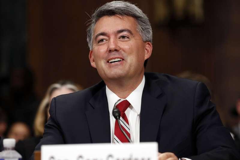 美國聯邦參議院外交委員會亞太小組主席賈德納(Cory Gardner)(AP)