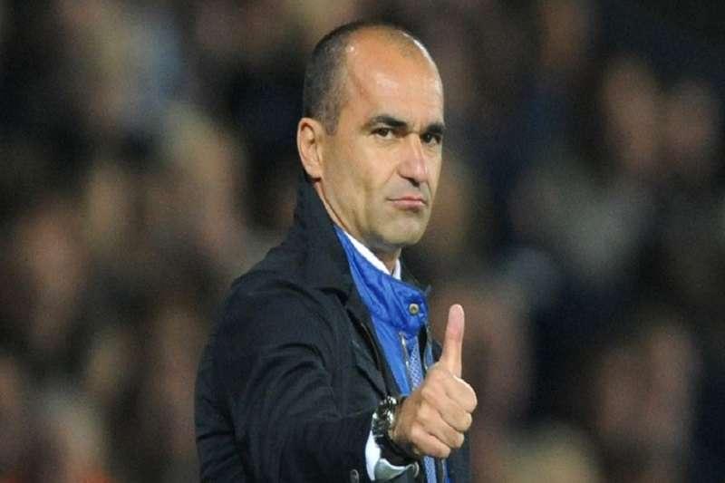 比利時總教練馬天尼斯彥曾在2013年帶領維根競技足球俱樂部,奪得英格蘭足總盃。 (美聯社)