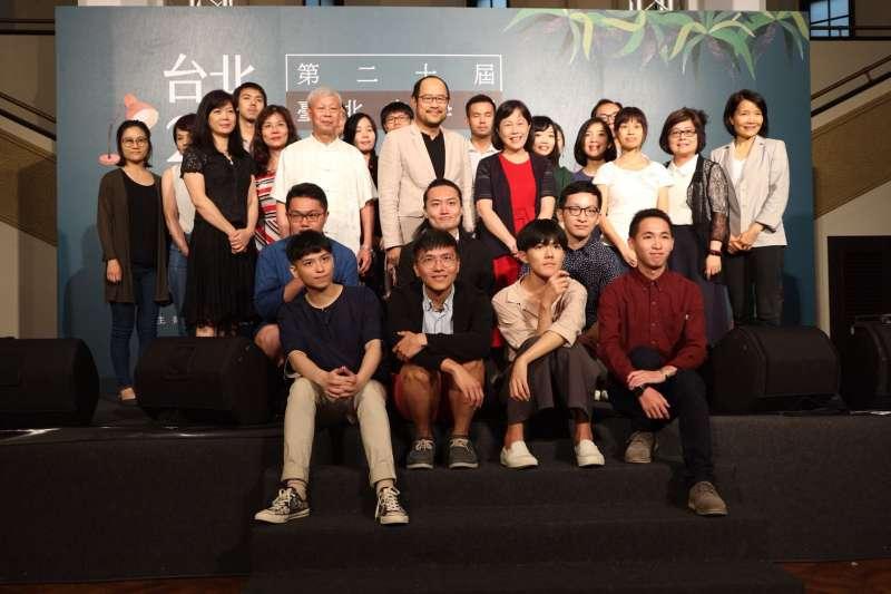 「台北文學獎」是文學界重頭獻,今年分為小說、散文、現代詩、古典詩、舞台劇本及文學年金獎助計畫等6項,加上第18屆文學年金最終得主,總計頒發23個獎項。(台北市文化局提供)