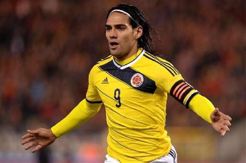 哥倫比亞國家代表隊,隊長一職將由頭號射手法爾考擔任。(美聯社)