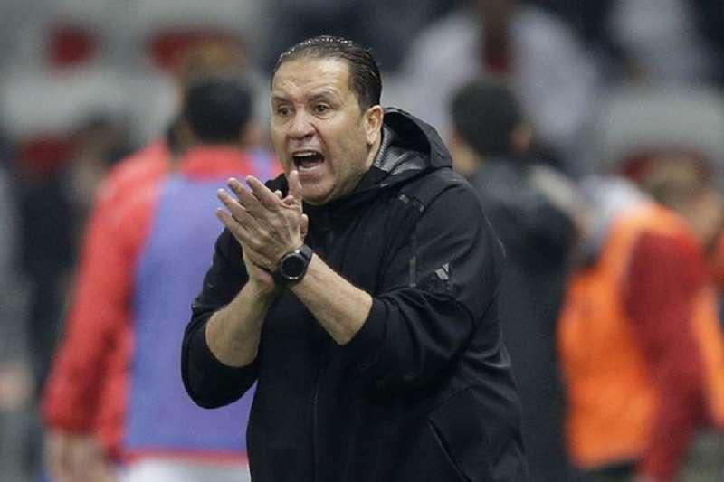圖為突尼西亞主帥馬拉沃,在球員時期曾代表突尼西亞出賽高達74次。(美聯社)