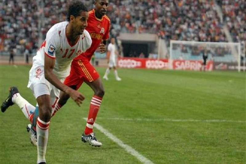 杰馬為突尼西亞國家代表隊歷史上,進球最多的球員,總計36球。(美聯社)