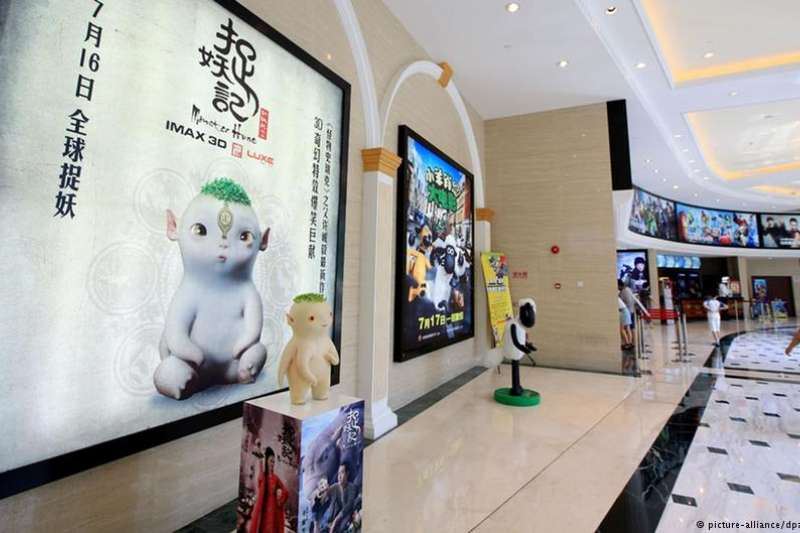 受到美國與中國之間的貿易衝突影響,中國放寬引進好萊塢電影的標準並不樂觀(德國之聲)