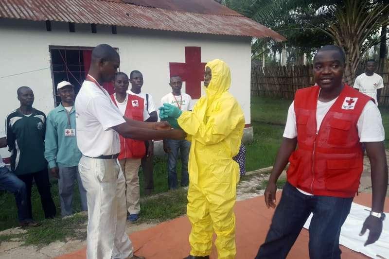 208年5月,非洲中部剛果民主共和國再度爆發伊波拉疫情,WHO嚴陣以待。(美聯社)