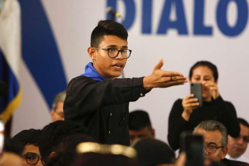 尼加拉瓜反政府民眾要求總統奧迪嘉下台(AP)