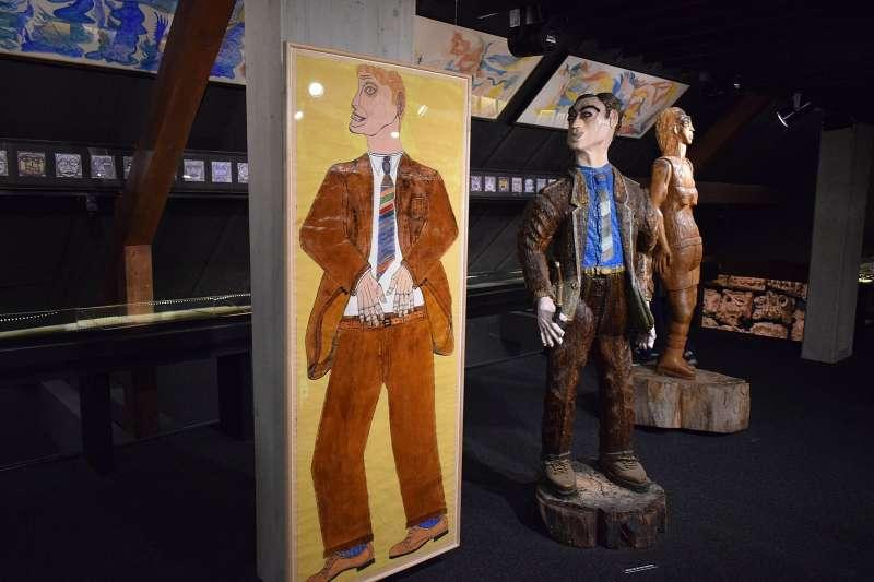 洛桑原生藝術博物館跟一般博物館最不同的是,裡頭的收藏大多是來自囚犯和精神病患的作品,包括一位單戀國王到精神分裂,只好不停畫下激情愛慾的傳奇女子…(圖/截自wikimedia commons)