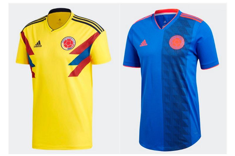 哥倫比亞球衣。(圖愛迪達提供)