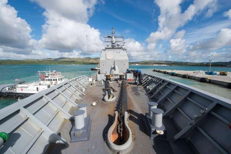 美軍巡洋艦安提坦號(USS Antietam)(USS Antietam FB)