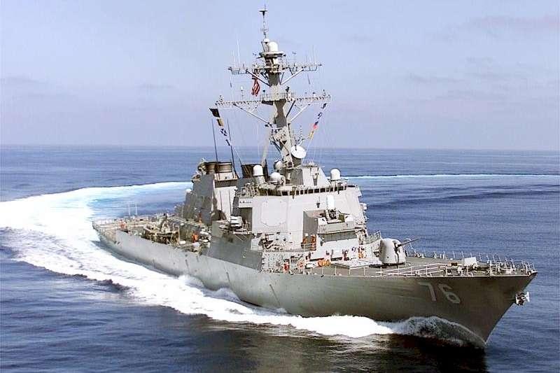 美軍驅逐艦「希金斯號」(USS Higgins)(Wikipedia / Public Domain)