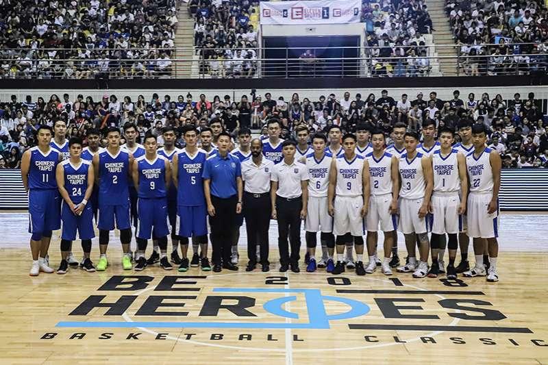 中華隊今天公佈年輕的白隊陣容名單,參與第40屆瓊斯盃男子籃球邀請賽,其中徵招許多近年來旅外的年輕好手,淺力無窮。(圖/余柏翰記者攝)