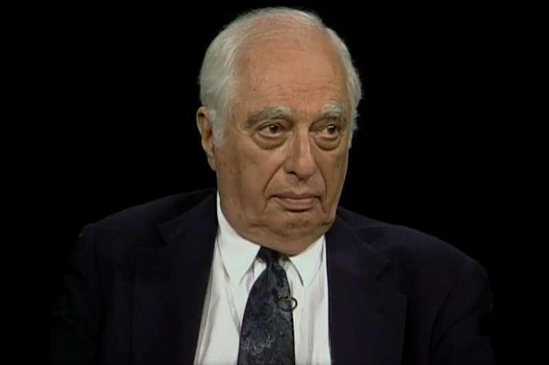極具影響力的伊斯蘭教和阿拉伯世界研究學者路易斯(Bernard Lewis)(YouTube)