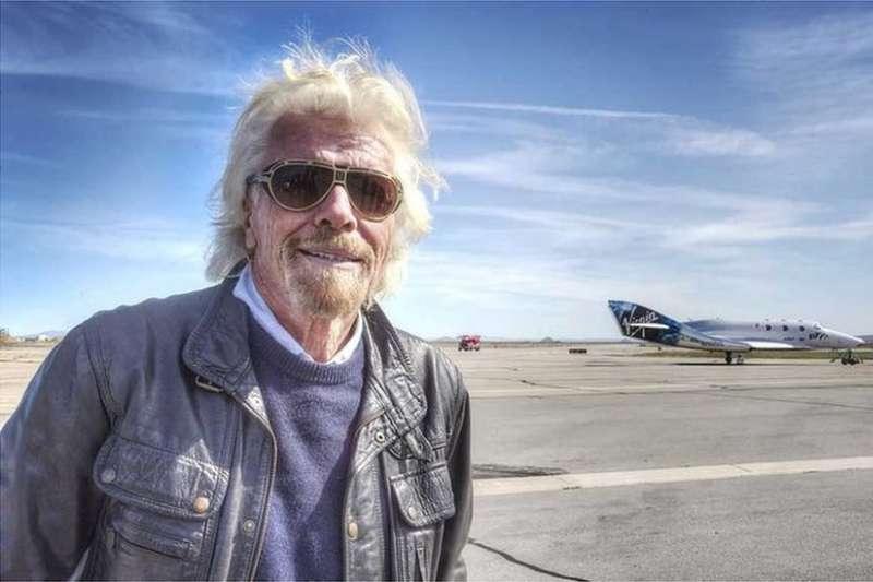 維珍集團(Virgin Group)創辦人、億萬富翁布蘭森(Richard Branson)。(BBC中文網)