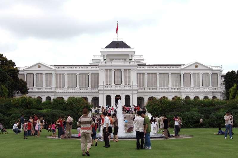 新加坡總統府。(維基百科)