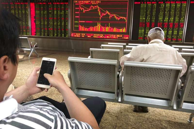 北京證券交易所。(AP)