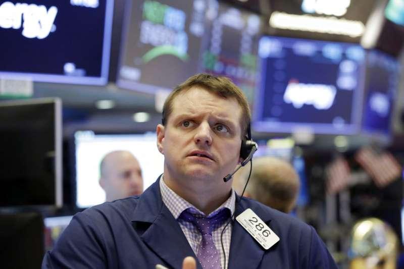 華爾街證券交易所。(AP)