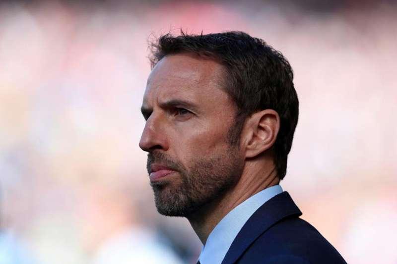 索斯蓋特為現任英格蘭國家隊總教練。(美聯社)
