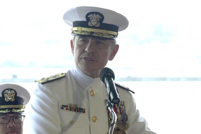 美國太平洋司令部前司令哈里斯上將成為新任美國駐南韓大使。(美國海軍照片)