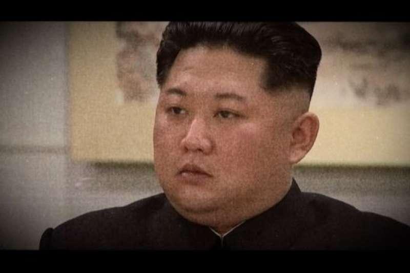 金正恩。(BBC中文網)