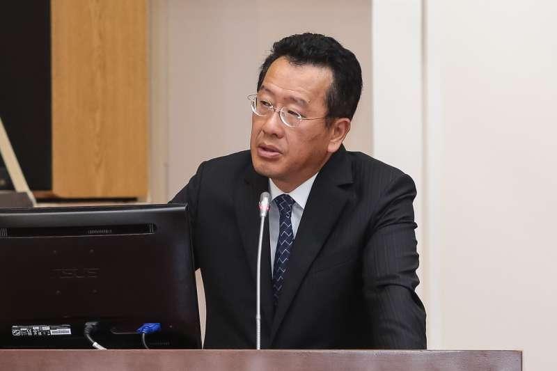 20180531-金管會主委顧立雄31日於財政委員會備詢。(顏麟宇攝)