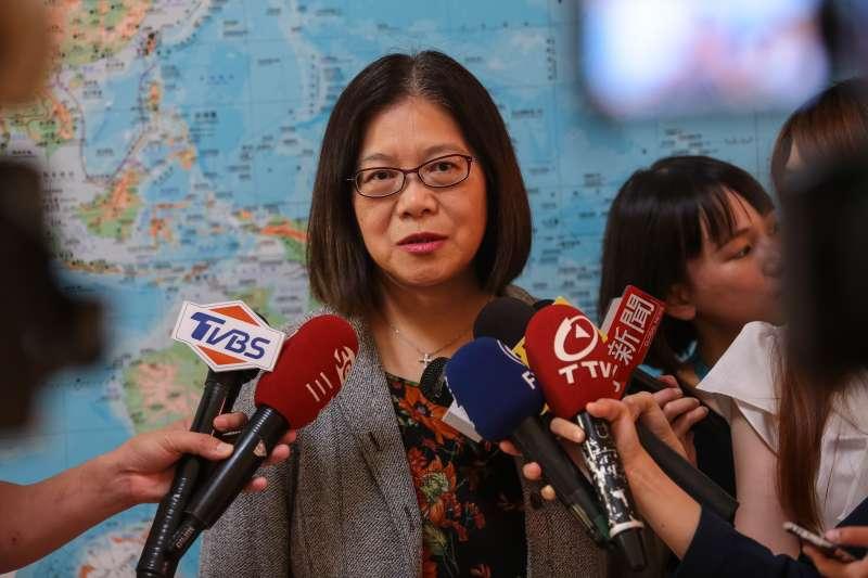 高雄立委確定減1席 管碧玲:選區大卸3塊,爭取戰鬥位置-風傳媒
