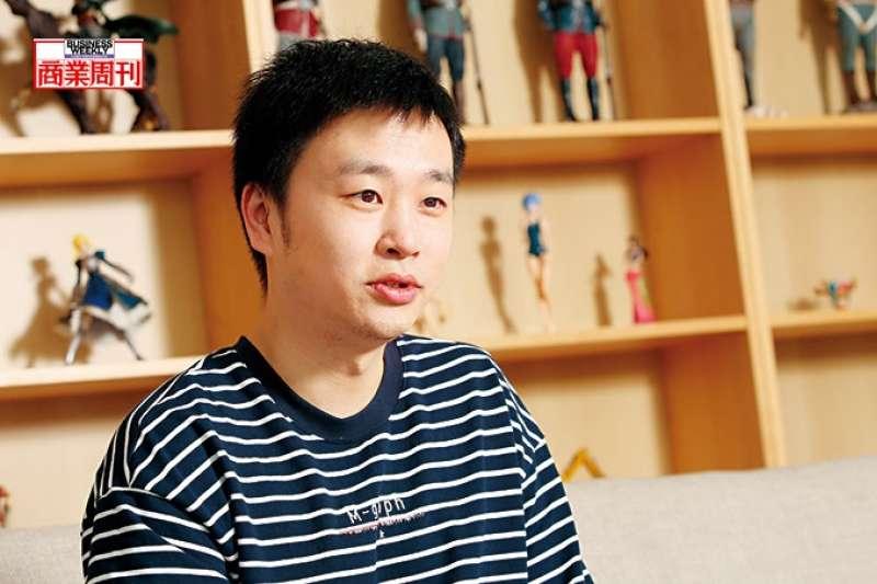 蘑菇街創辦人陳琪公司內掛滿激勵標語,他說:「如果我們不迭代,就會被淘汰!」(商業周刊駱裕隆攝影)