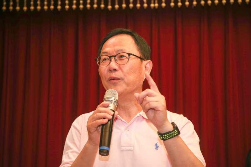 國民黨台北市長參選人丁守中(陳明仁攝)