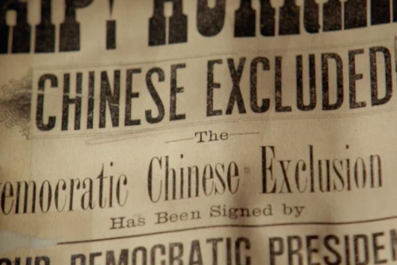 美國PBS拍攝的「The Chinese Exclusion Act」紀錄片,描述美國19世紀末的排華法案、美國第一代的華裔爭取權利,以及1882年後在美國西部的種族清洗。(取自PBS)