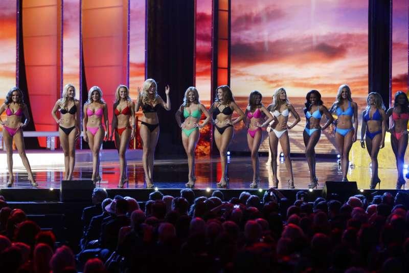 美國小姐(Miss America)選美宣布廢除泳裝項目。(AP)