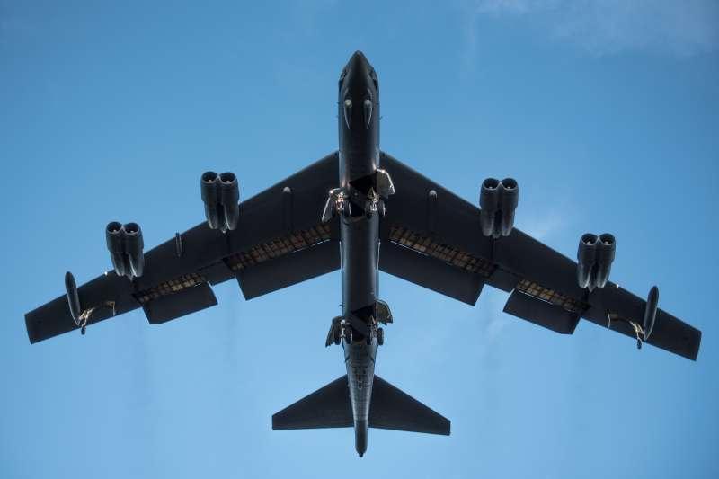 美國空軍B-52「同溫層堡壘」(B-52 Stratofortress)戰略轟炸機(US Pacific Air Forces)