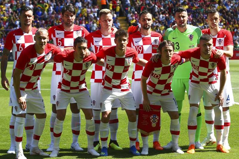 克羅埃西亞國家不大,但陣中有不少在歐洲知名俱樂部效力的球星,實力不容小覷。(美聯社)