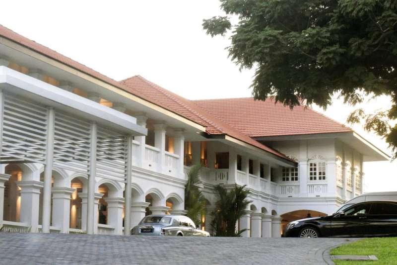 聖淘沙島的嘉佩樂酒店。(美聯社)