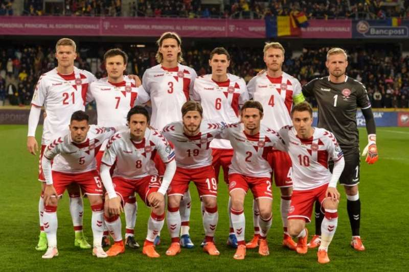 丹麥挾歐洲會外賽第2名進軍本屆世界盃。(美聯社)