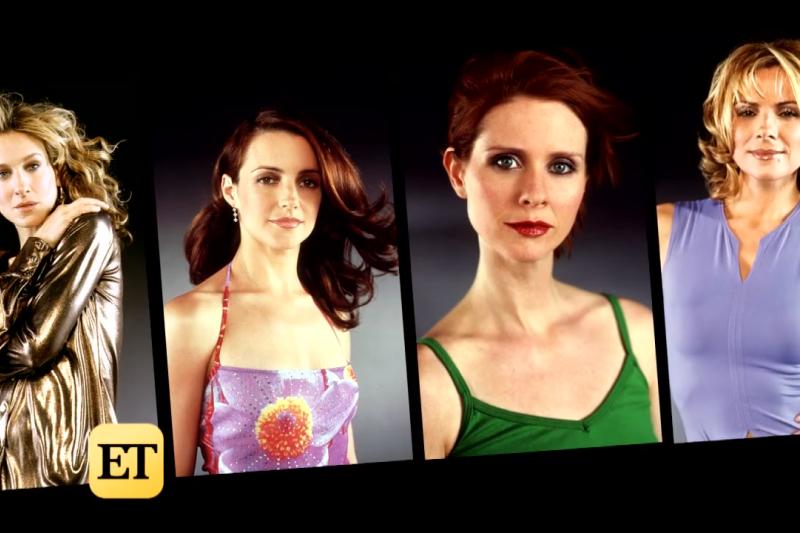 慾望城市四位女主角,分別在時尚圈發光、投身公益、跨入政壇,各有一片天。(圖/取自Entertainment Tonight@youtube)