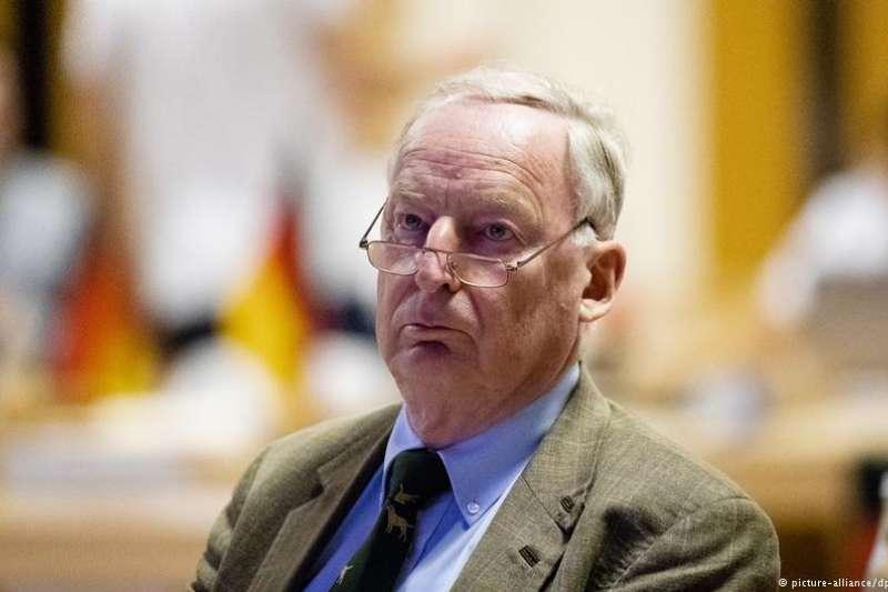 德國選項黨(AfD)主席高蘭德。(德國之聲)