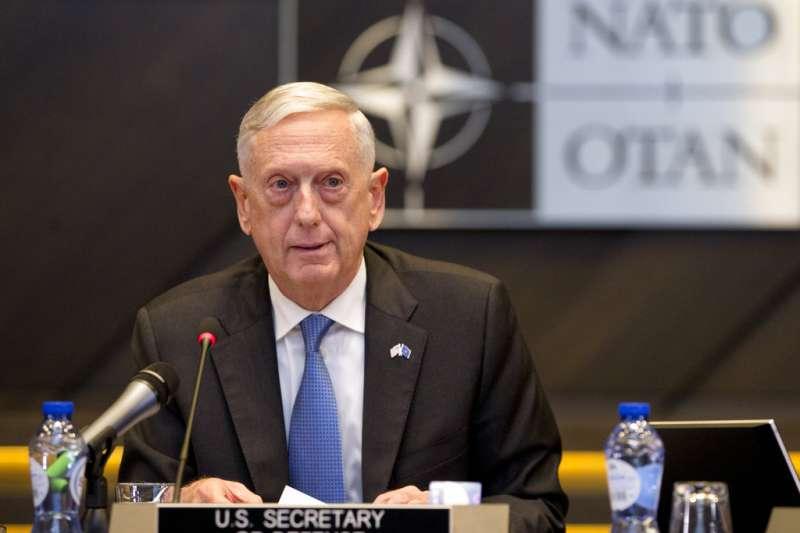 美國國防部長馬提斯。(AP)
