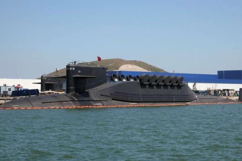 中國人民解放軍海「09IV型」(晉級)核動力潛艦(Wikipedia / Public Domain)