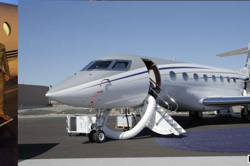 C羅的私人飛機,灣流G650。 (截取至TOTAL SPORTEK網站)