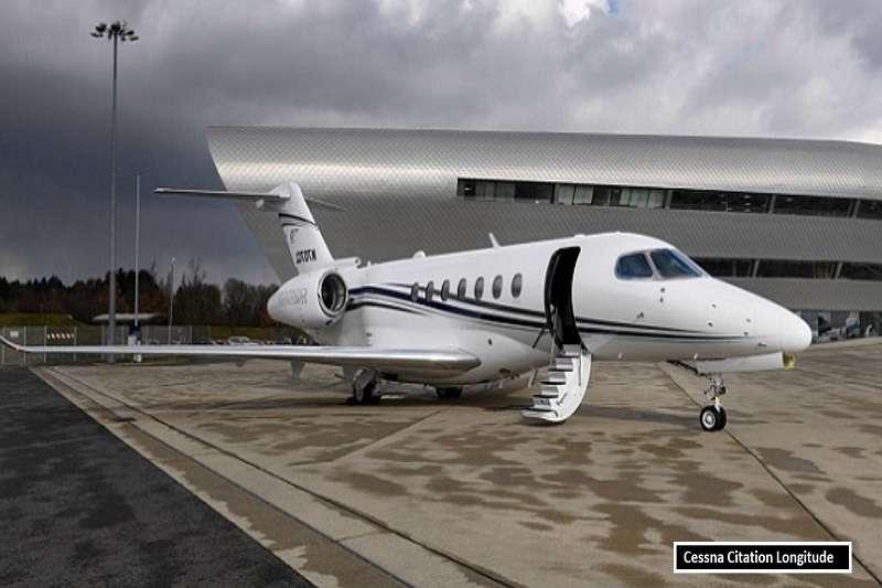 伊布拉希莫維奇的私人飛機,Cessna Citation Longitude。 (截取至TOTAL SPORTEK網站)