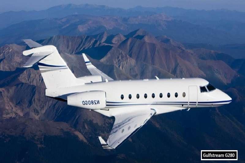 博格巴的私人飛機,灣流G280。 (截取至TOTAL SPORTEK網站)
