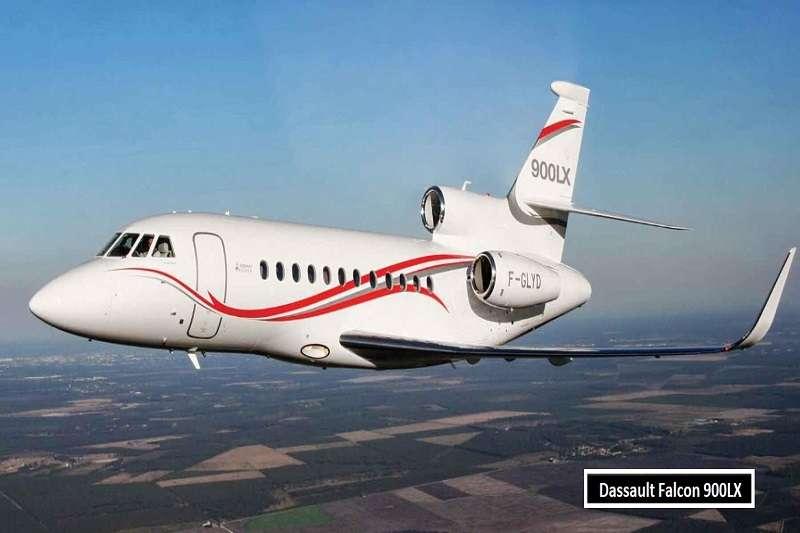 魯尼的私人飛機,達索獵鷹 900運輸機。 (截取至TOTAL SPORTEK網站)