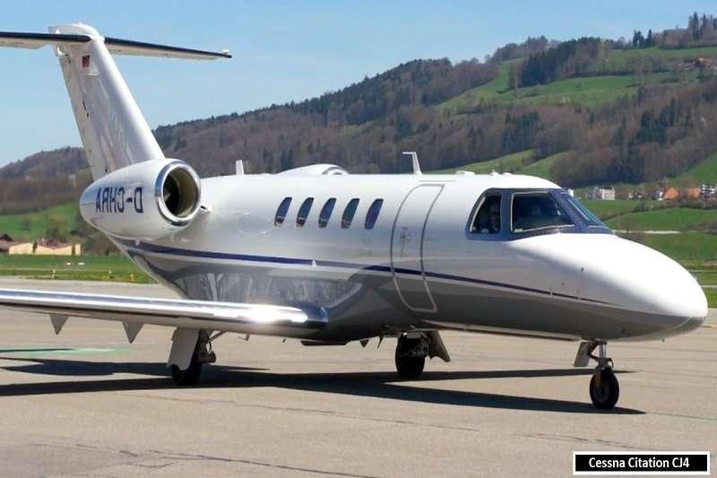 本澤馬的私人飛機,Cessna Citation CJ4。 (截取至TOTAL SPORTEK網站)