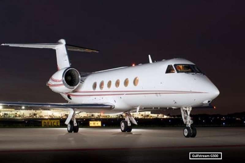 桑切斯的私人飛機,灣流G300。 (截取至TOTAL SPORTEK網站)
