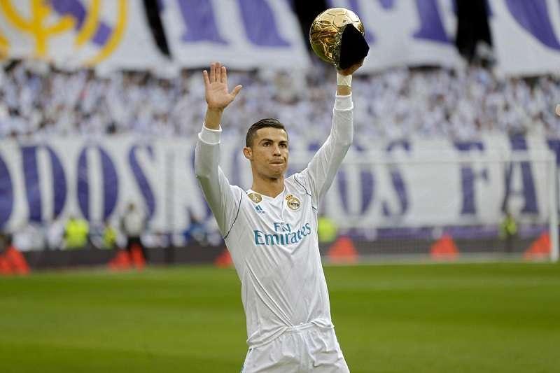 皇家馬德里的C羅是眾多擁有私人飛機球星的其中一位。 (美聯社)