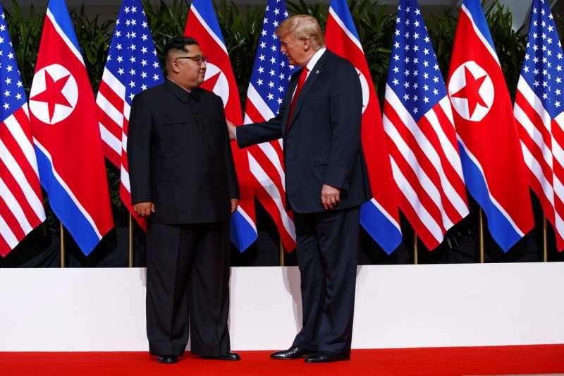 外交部今(12)日表示,台灣身為區域內重要成員,高度肯定並支持美朝雙方透過理性對話降低朝鮮半島及東亞區域緊張情勢所做的各項努力。(資料照,美聯社)