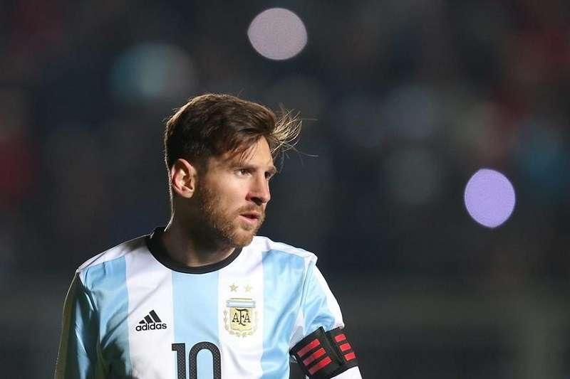 梅西將看本屆世足賽的成績,來決定是否從國家隊退役。 (美聯社)