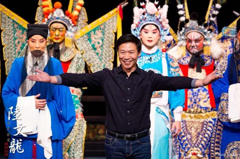 luwenlong:曾主演陸文龍的朱陸豪及李家德。(取自國光劇團臉書)