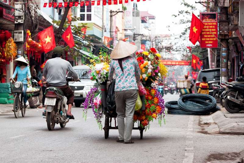 越南人民平均所得提高,小資族台勞更取代越南台商,進攻越南市場。(資料照,數位時代提供)