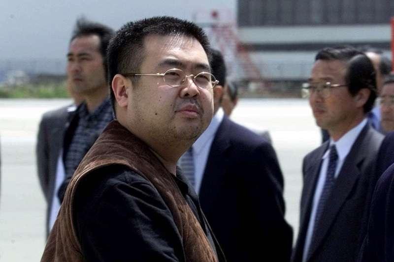 金正男,北韓前任領導人金正日的長子,2017年2月13日遭現任領導人、胞弟金正恩毒殺(AP)