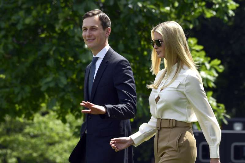 美國「第一千金」伊凡卡.川普(Ivanka Trump)和丈夫庫許納(Jared Kushner)(AP)