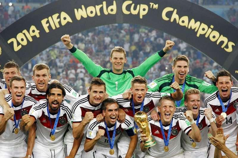 德國是2014年巴西世界盃冠軍得主。(美聯社)